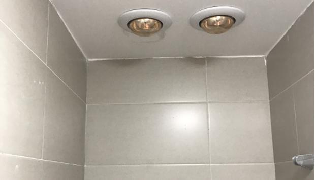 Lựa chọn đèn sưởi âm trần nhà tắm 1 bóng