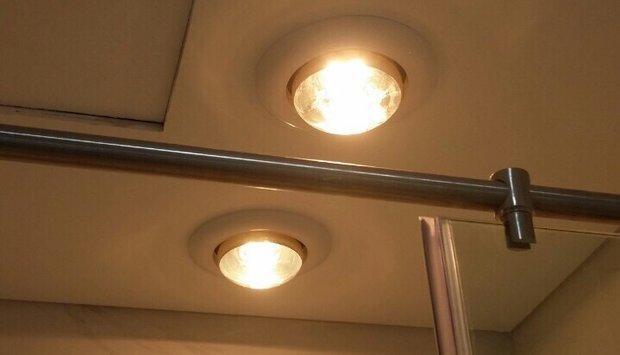 Giới thiệu đèn sưởi nhà tắm âm trần Milor