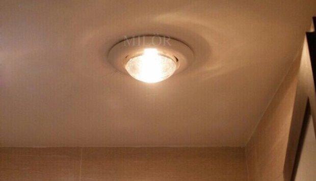 Đèn sưởi âm trần nhà tắm mùa đông Milor