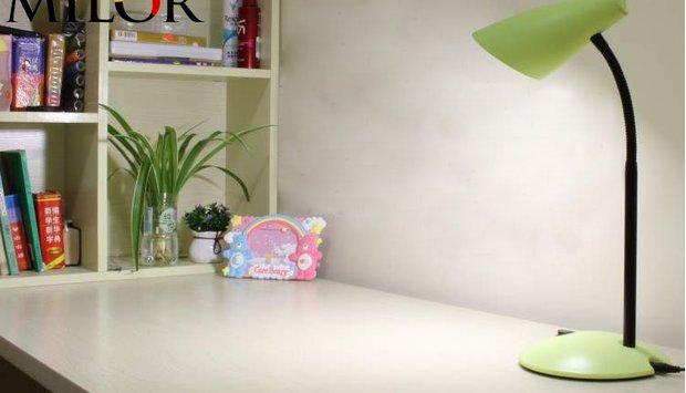 Giải pháp bảo vệ mắt với đèn led để bàn cho bé tốt và an toàn