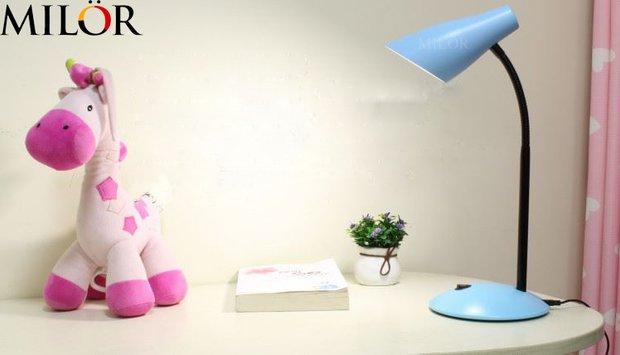 Độ sáng của đèn bàn chống cận phù hợp cho mắt trẻ là bao nhiêu