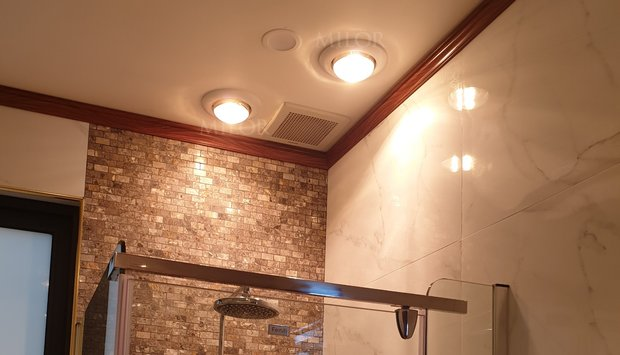 Cách chọn đèn sưởi nhà tắm cho nhà có trẻ nhỏ