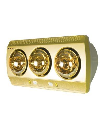 Đèn sưởi phòng tắm Milor 3 bóng