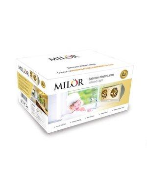 Đèn sưởi hồng ngoại 2 bóng Milor ML-8002