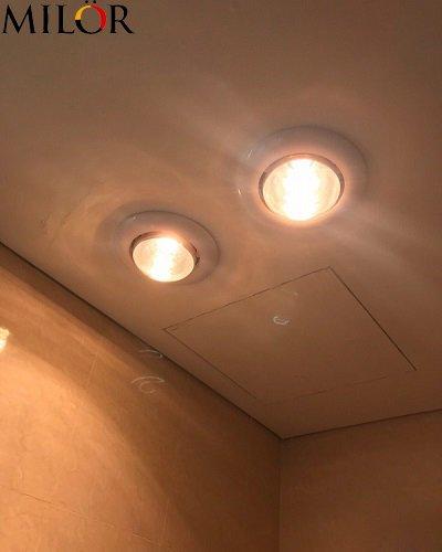 Đèn sưởi âm trần phòng ngủ Milor