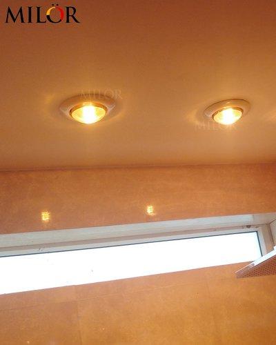 Đèn sưởi âm trần 2 bóng cho phòng làm việc