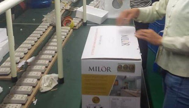 Sản xuất đèn sưởi phòng tắm Milor